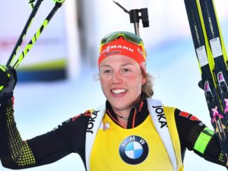 Лаура Дальмайер - суперзвезда мирового биатлона из Германии