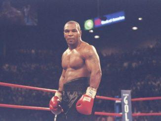 Майк Тайсон - легендарный американский боксер-тяжеловес