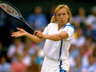 Мартина Навратилова - одна из лучших теннисисток в истории