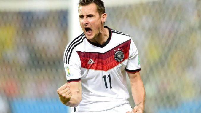 Мирослав Клозе - лучший бомбардир в истории чемпионатов мира по футболу