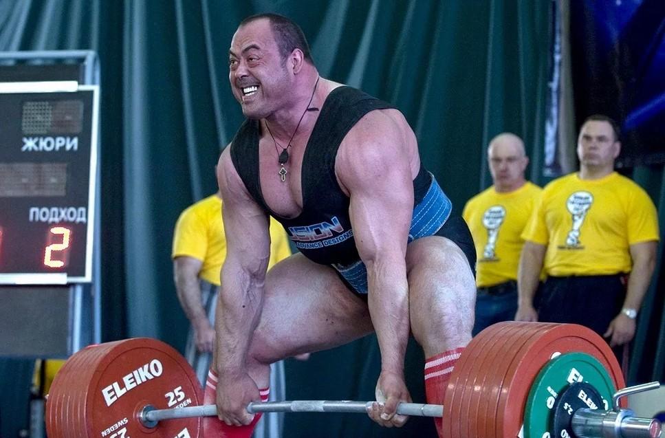 Становая тяга 400 кг в исполнении Андрея Маланичева