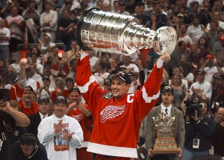 Стив Айзерман - обладатель Кубка Стэнли-1998