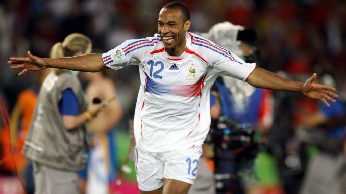 Тьерри Анри - лучший бомбардир в истории сборной Франции