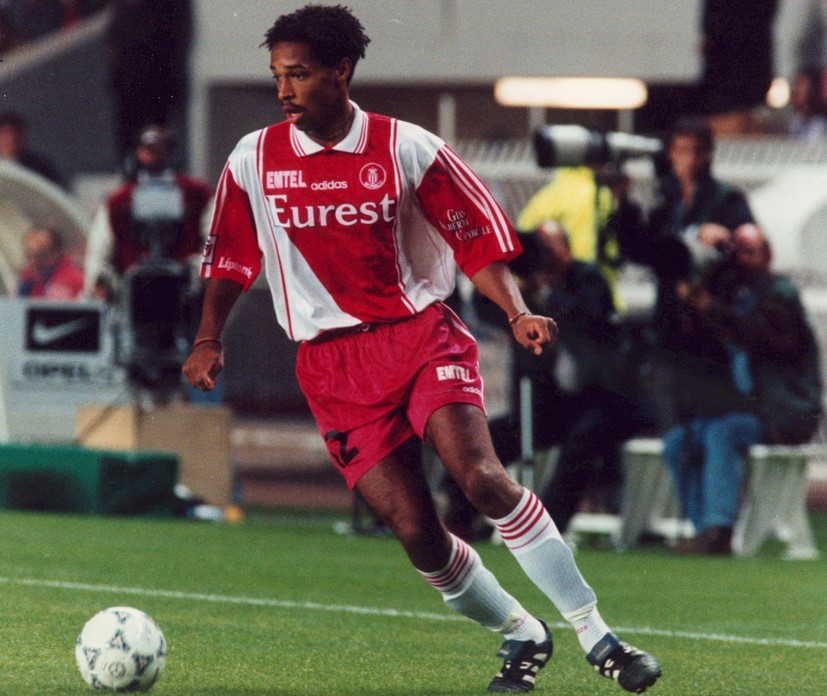 Тьерри Анри - молодой нападающий «Монако»