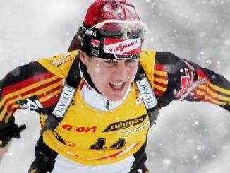 Уши Дизль - шестикратный призер общего зачета Кубка мира по биатлону