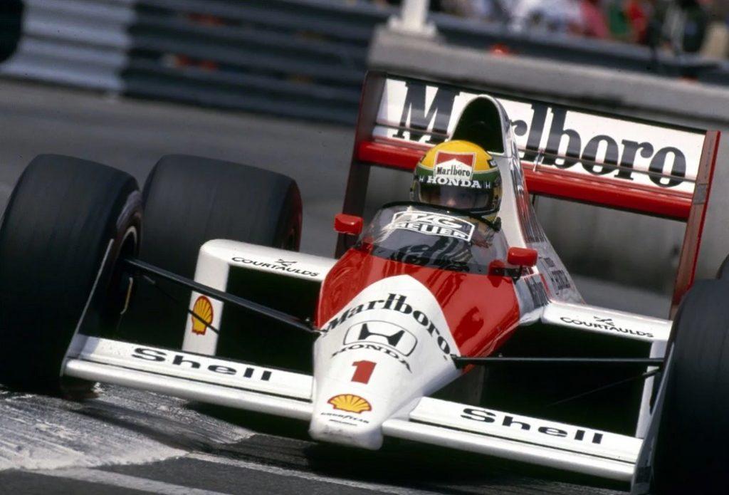 Айртон Сенна – пилот McLaren Honda (1989)