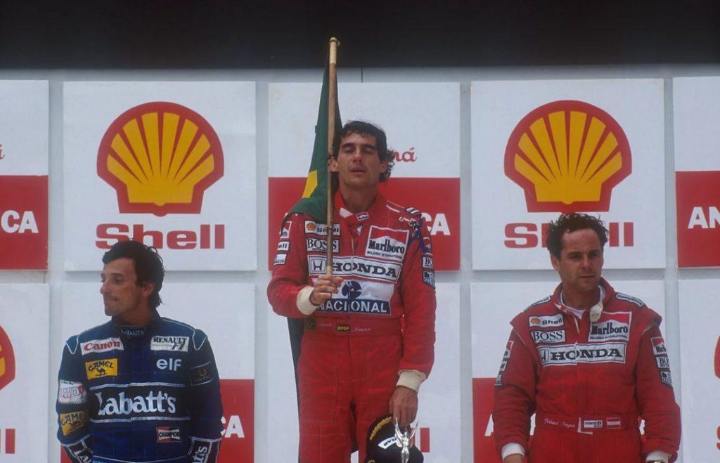 Айртон Сенна - победитель Гран-при Бразилии (1991)