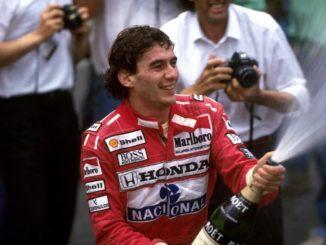 Айртон Сенна – трехкратный чемпион мира Формулы-1