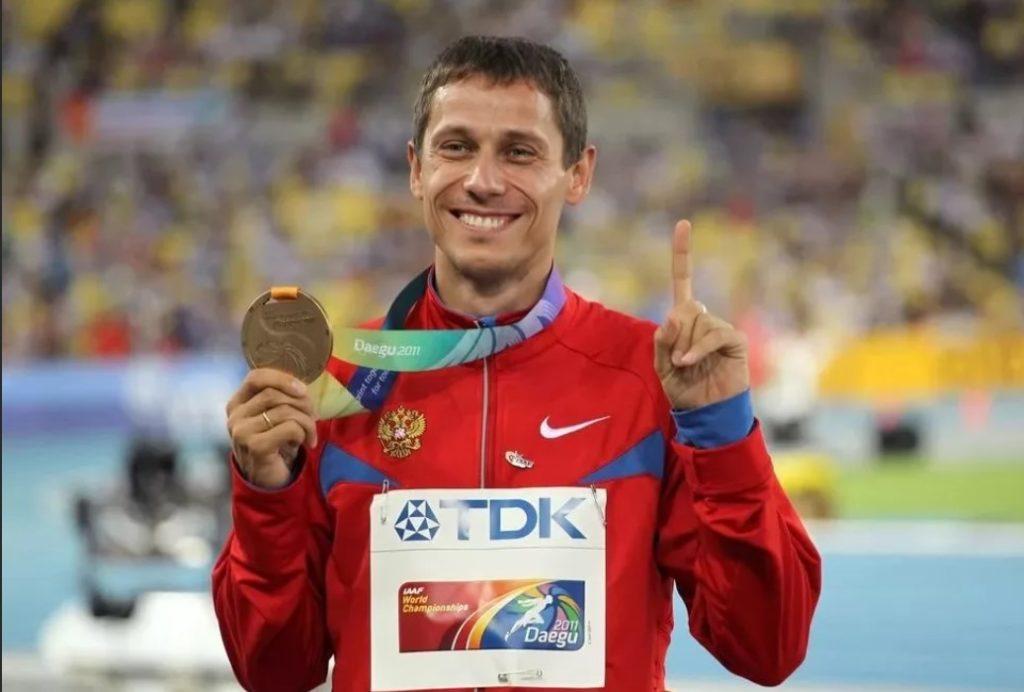 Юрий Борзаковский - бронзовый призер чемпионата мира-2011