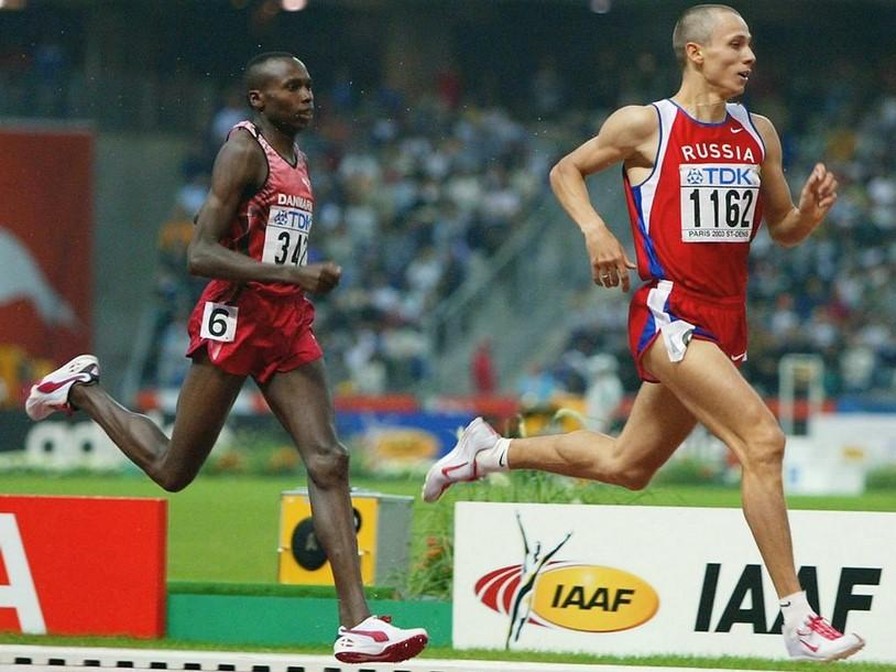 Юрий Борзаковский - серебряный призер чемпионата мира-2003