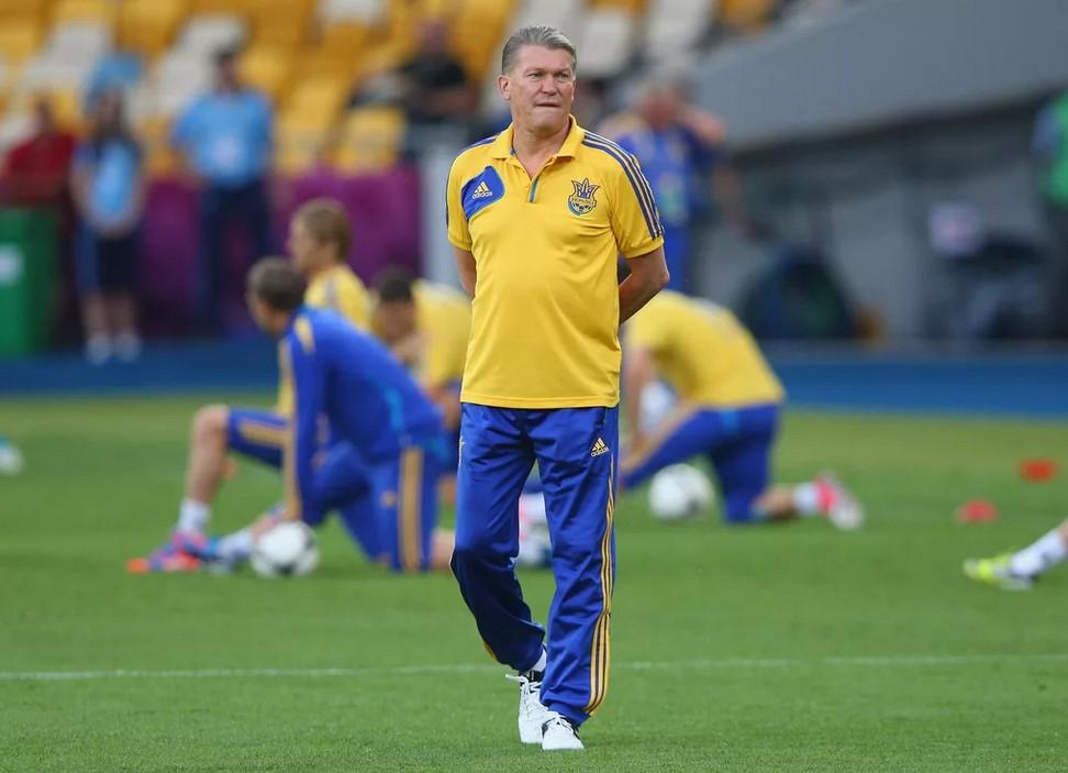 Олег Блохин - главный тренер сборной Украины