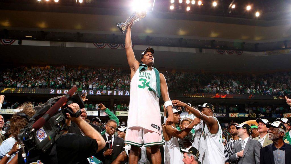 Пол Пирс - чемпион и MVP финала НБА-2008