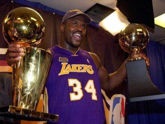 Шакил О'Нил - трехкратный MVP финалов НБА