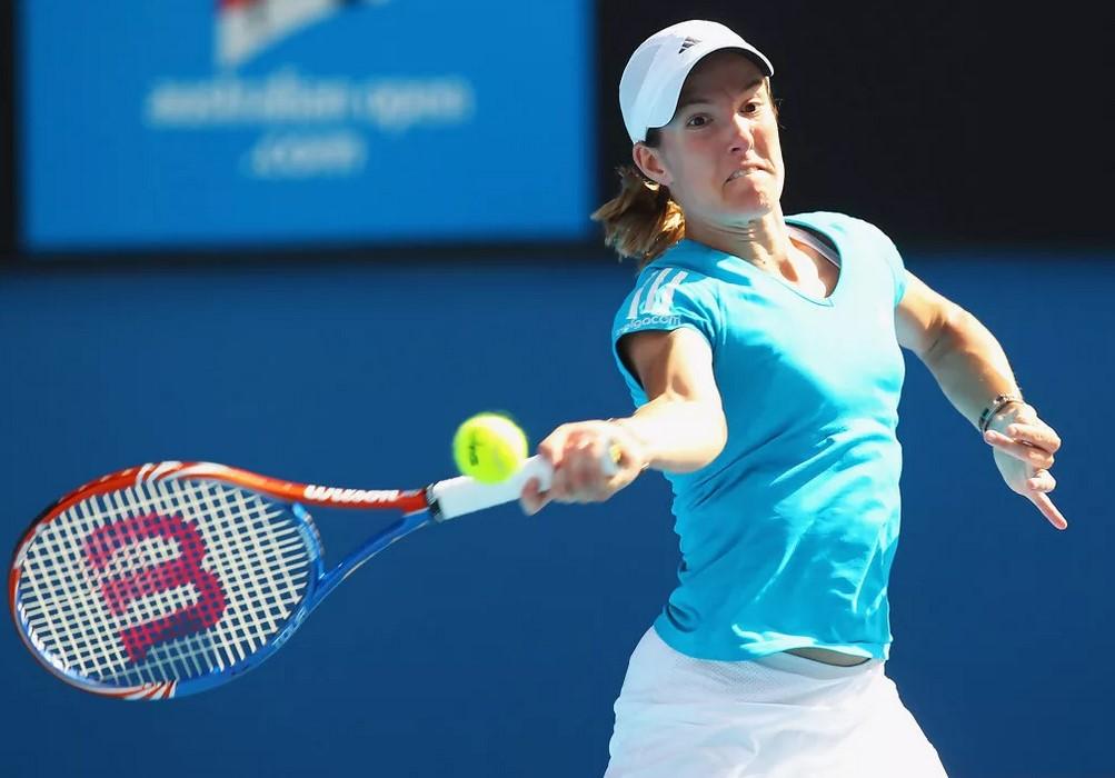 Жюстин Энен на Australian Open-2010